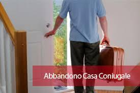 ADDEBITO e ABBANDONO TETTO CONIUGALE